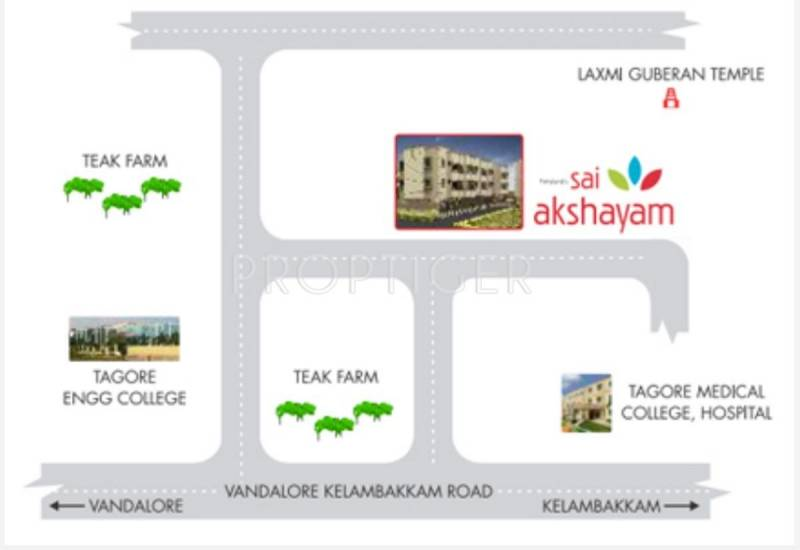 Images for Location Plan of Fairyland Sai Akshayam