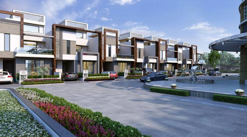 Images for Elevation of Manglam Aangan Prime Villa