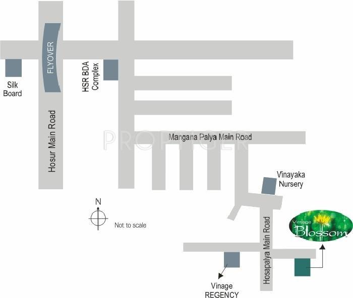 Images for Location Plan of Vintage Vintage Blosoom