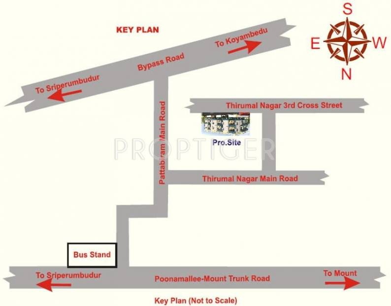 Images for Location Plan of RKN Jayam Flats