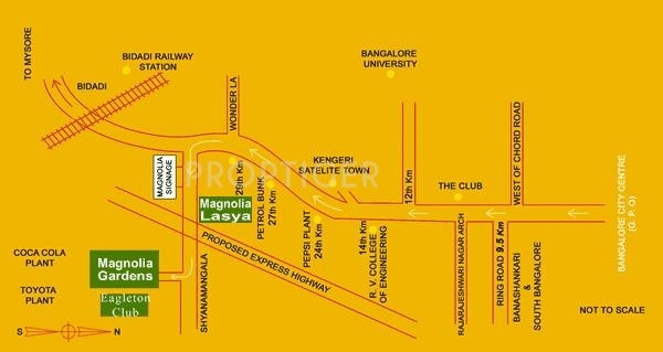 Images for Location Plan of Magnolia Lasya