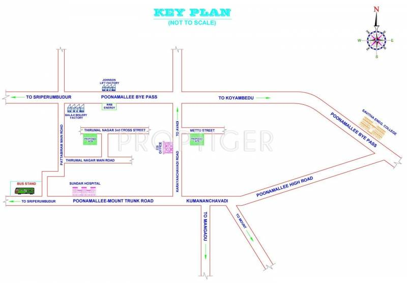 Images for Location Plan of RKN Seeralam Flats