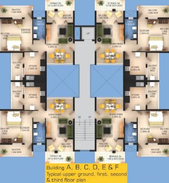 Images for Cluster Plan of Devashri Monarch Palms