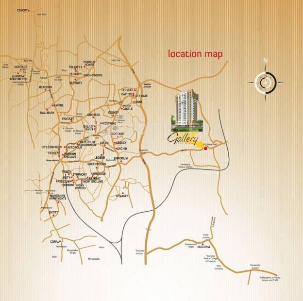 Images for Location Plan of Mohtisham Gallery