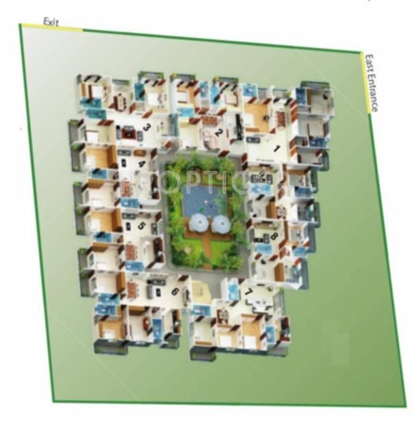 Images for Cluster Plan of Comfort Flora