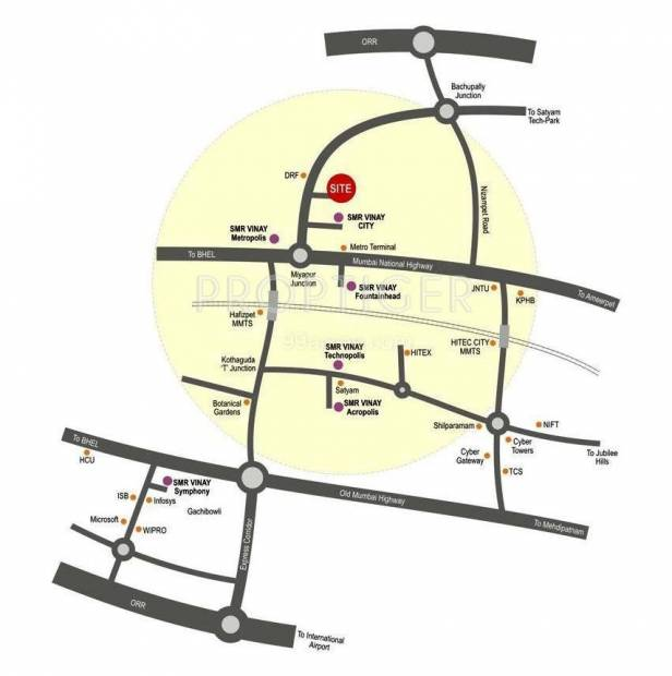 sai-krupa-residency Images for Location Plan of Priya Sai Krupa Residency
