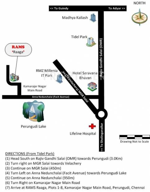 Images for Location Plan of Rams Ragashree
