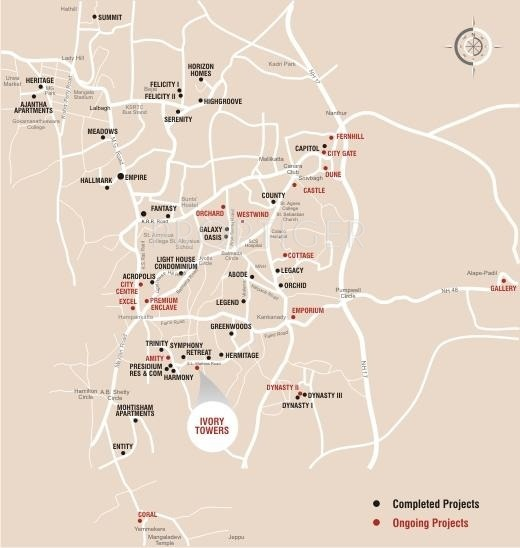 Images for Location Plan of Mohtisham Ivory Towers