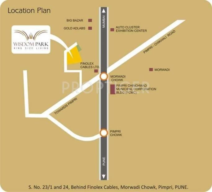 wisdom-park Images for Location Plan of Chandrarang Wisdom Park