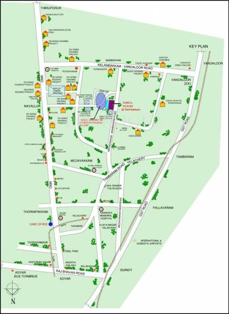 acacia Location Plan