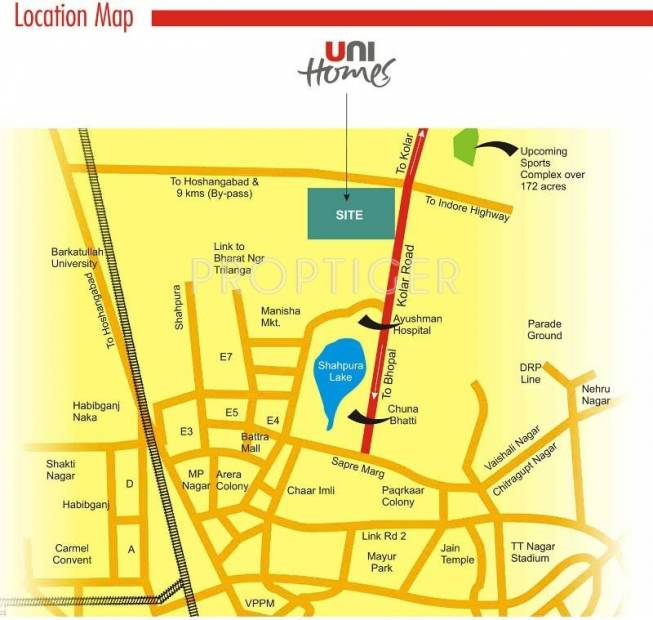 Images for Location Plan of Unitech Unihomes 2