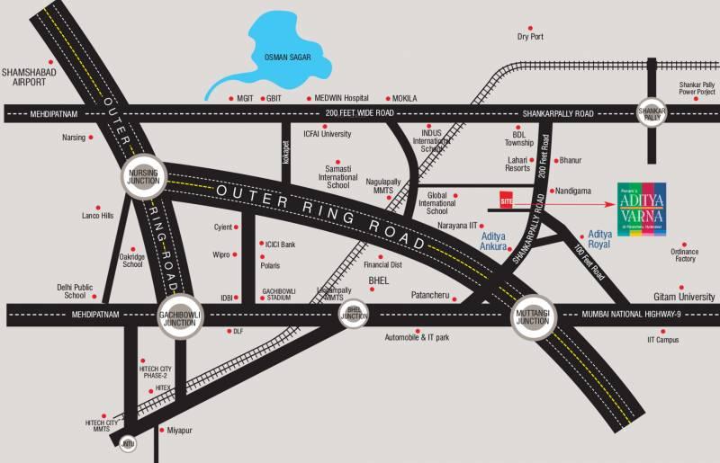 aditya-varna Images for Location Plan of Peram Aditya Varna