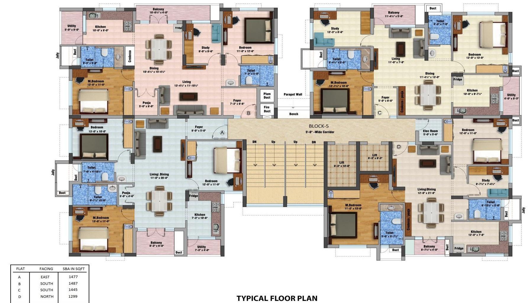 Mayflower Estate Apartments In Thudiyalur Coimbatore Price Location Map Floor Plan