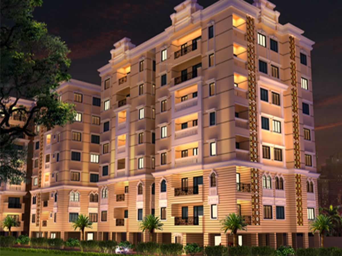 1, 2, 3 BHK Cluster Plan Image - Mayflower Estate ...