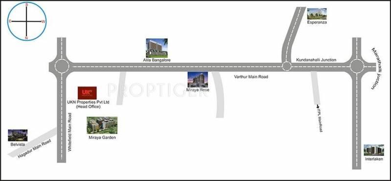 Images for Location Plan of UKN Miraya Garden