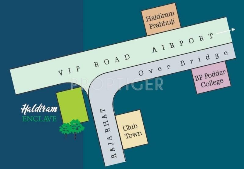 Images for Location Plan of Natural Group Haldiram Enclave
