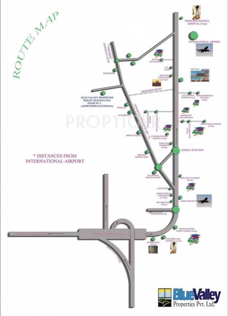 Images for Location Plan of Blue Valley Smilee Anandavana III