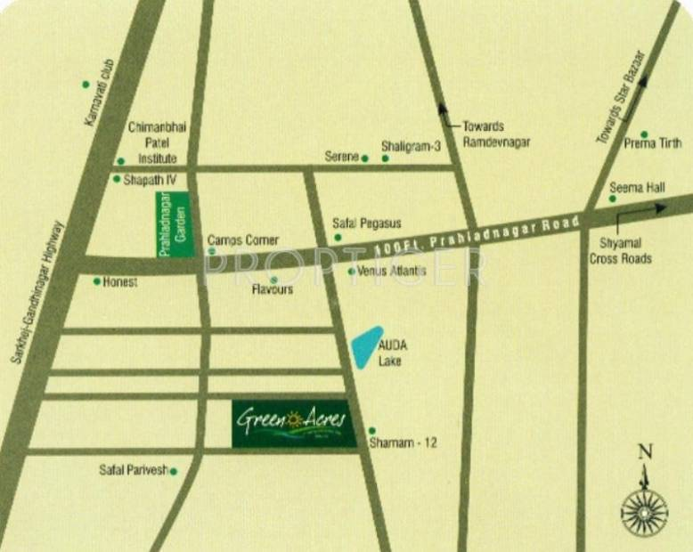 Images for Location Plan of Pacifica Companies Green Acres