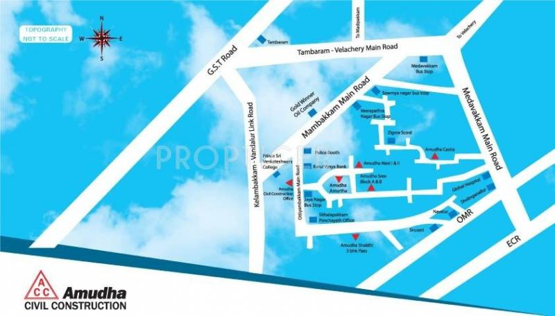Images for Location Plan of Amudha Amurtha