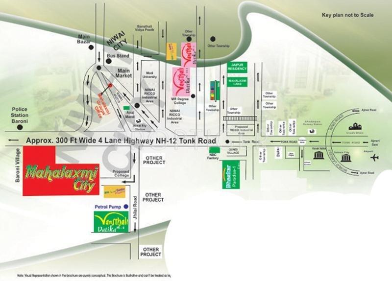 Images for Location Plan of Mahalaxmi Mahalaxmi City