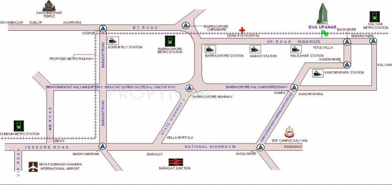 Images for Location Plan of DVA Upahar