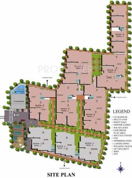 Images for Site Plan of SV Brindavanam