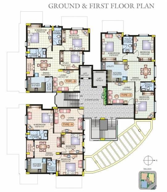 Images for Cluster Plan of Hoysala Landmark