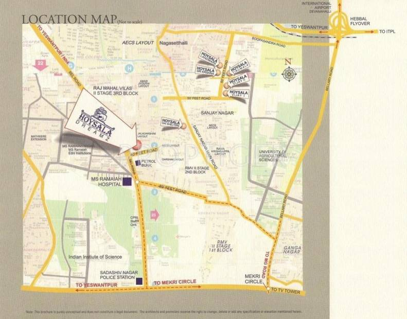 Images for Location Plan of Hoysala Dreamz