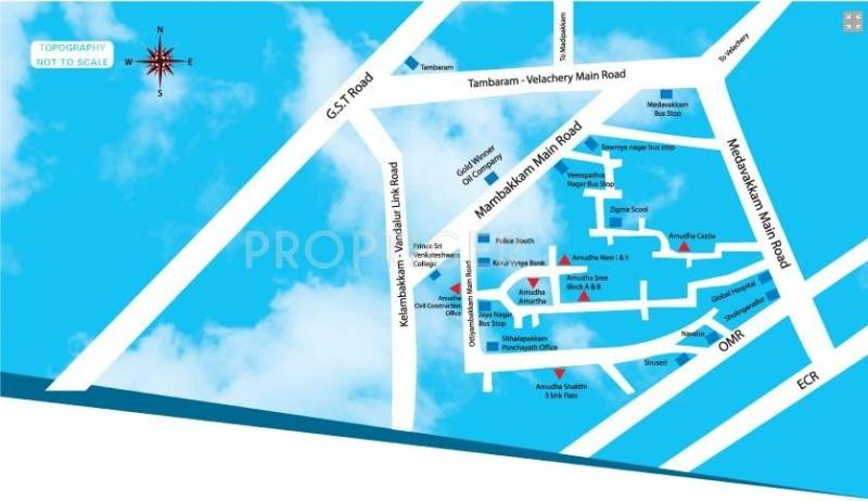 Images for Location Plan of Amudha Paradise