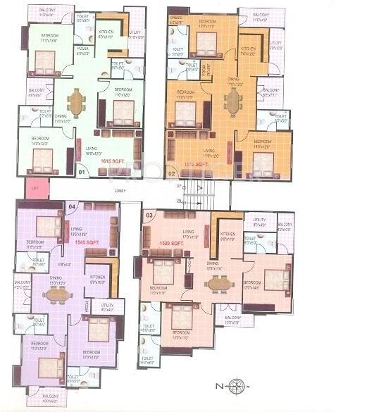 Images for Cluster Plan of United Homes Tulips