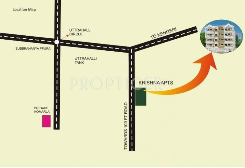 i1 Properties Krishna Location Plan