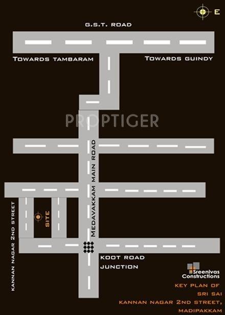 Images for Location Plan of Sreenivas Sri Sai