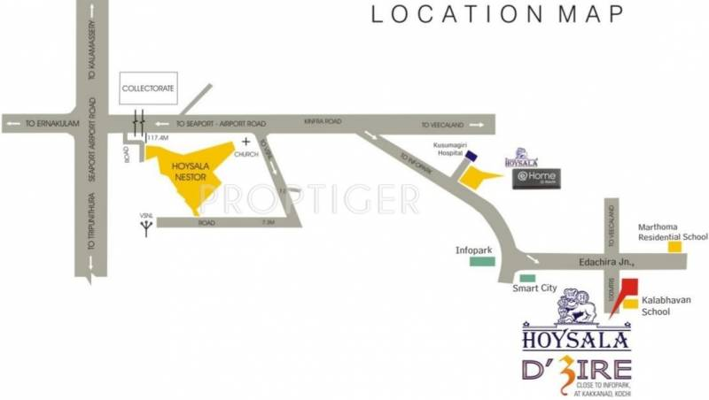 Images for Location Plan of Hoysala Dzire