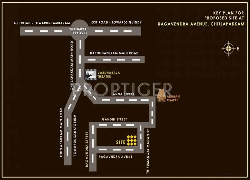 Images for Location Plan of Sreenivas Sree Dhama