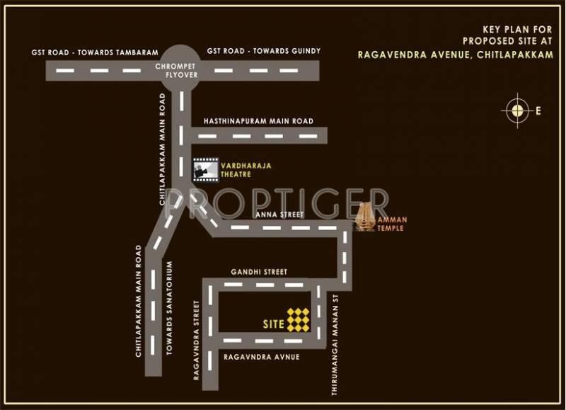 Images for Location Plan of Sreenivas Sree Dhama
