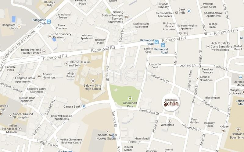 Images for Location Plan of Indraprastha Schon