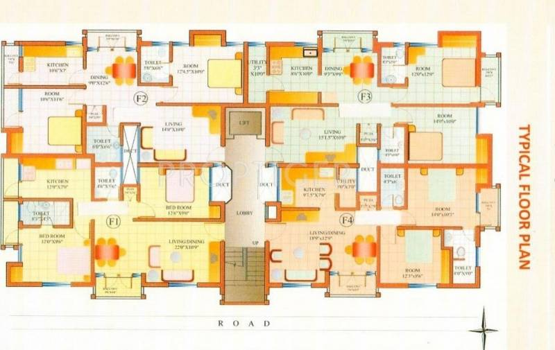 Images for Cluster Plan of i1 Ramya Tulip