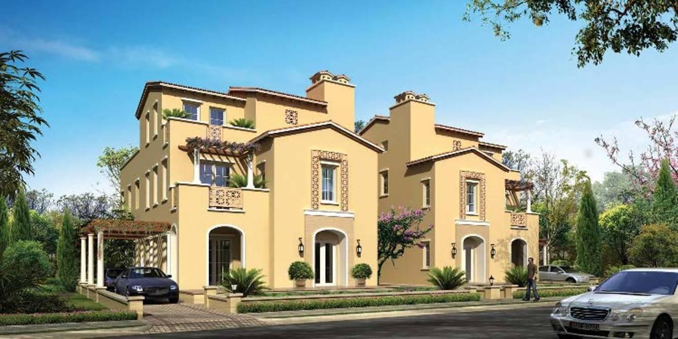 Front Elevation Of House In Jaipur : Emaar jaipur greens villa in kalwara price