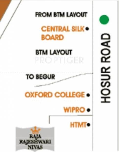 Images for Location Plan of Raja Uday Raja Rajeshwari Nivas
