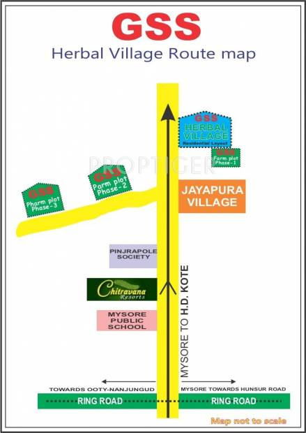 Images for Location Plan of GSS Herbal Village