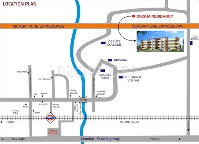 Images for Location Plan of Diksha Residency
