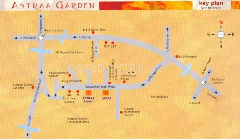 Images for Location Plan of Hi Astraa Garden