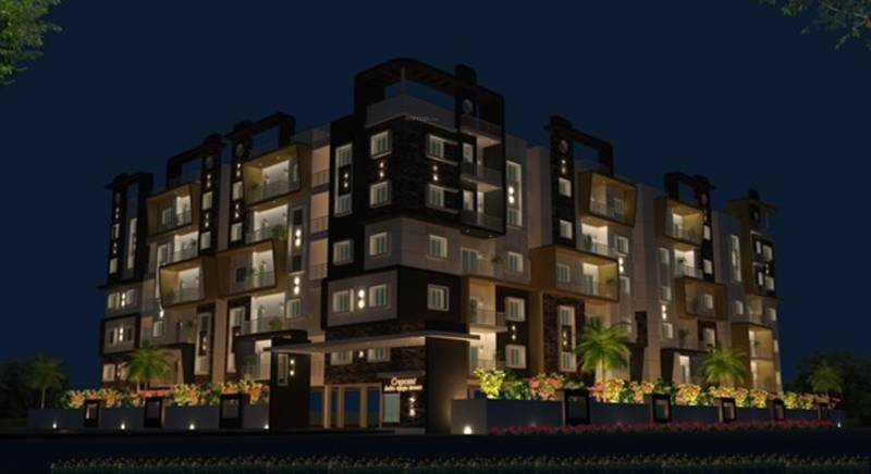 Images for Elevation of Crescent Indra Vijaya Towers