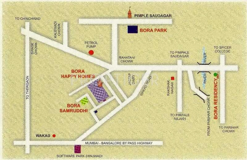 Images for Location Plan of Bora Samrudhhi