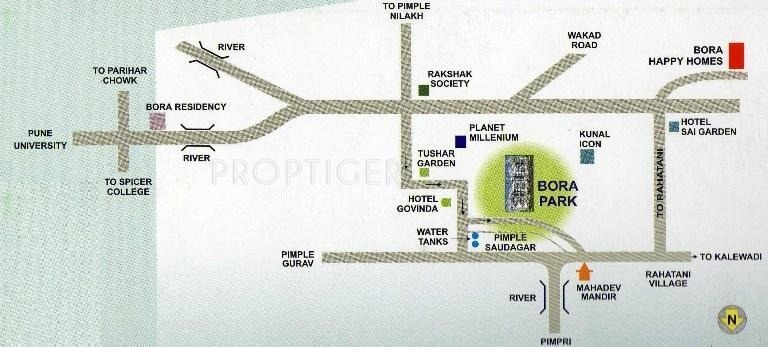Images for Location Plan of Bora Park