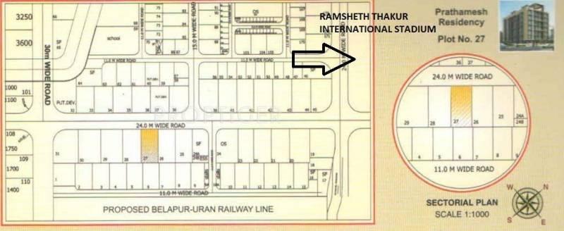 Images for Location Plan of Prathamesh Residency