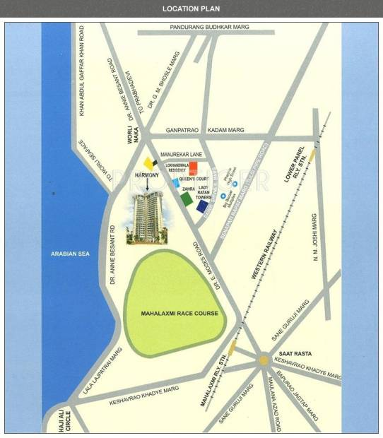 Images for Location Plan of Lokhandwala Infrastructure Harmony