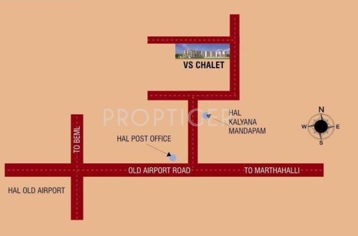VSR Associates VS Chalet Location Plan