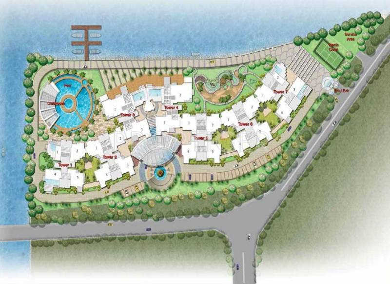 Images for Layout Plan of Prestige Neptunes Courtyard