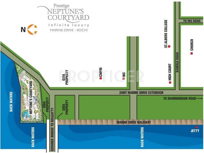 Images for Location Plan of Prestige Neptunes Courtyard